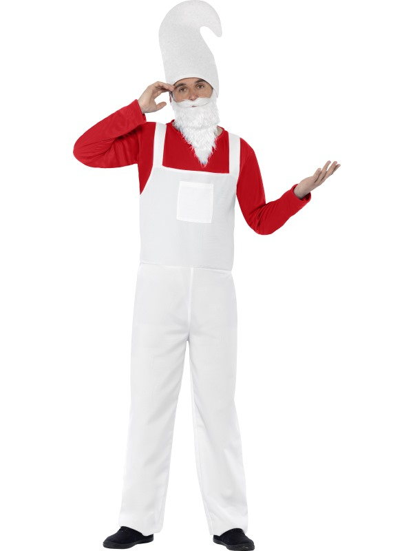 Coral Male Garden Gnome Costume