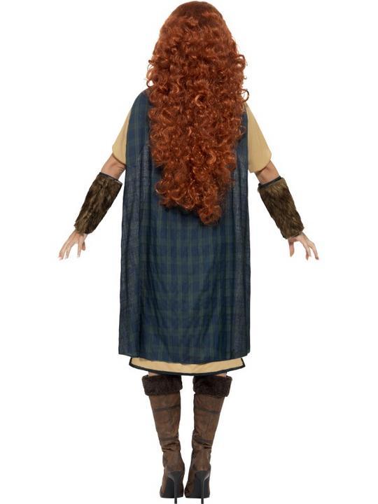 Adult Deluxe Medieval Viking Princess Warrior Queen Ladies Fancy Dress Costume Thumbnail 2