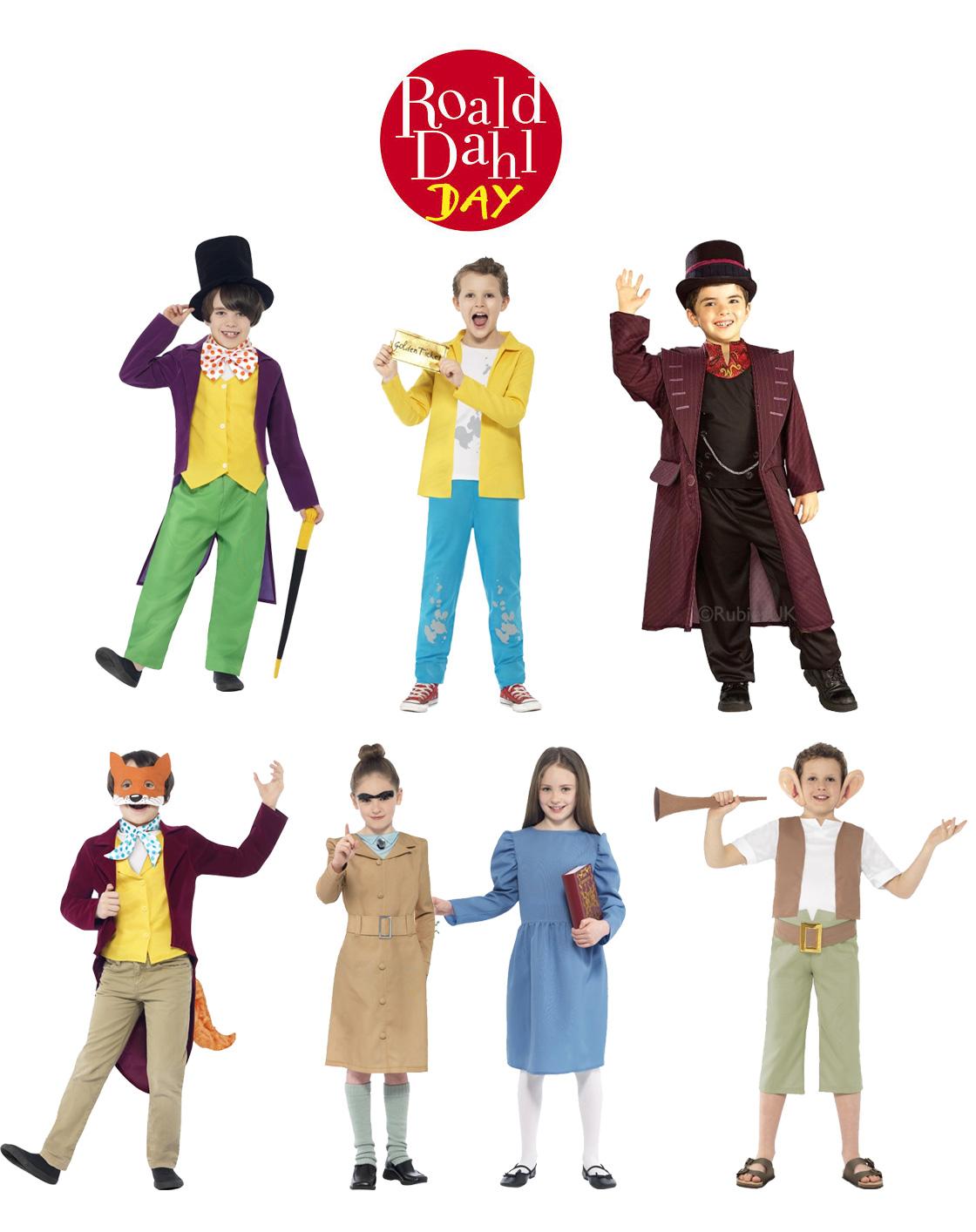 Child Licensed Roald Dahl Day Book Week Girls / Boys Fancy Dress Kids Costumes | eBay  sc 1 st  eBay & Child Licensed Roald Dahl Day Book Week Girls / Boys Fancy Dress ...
