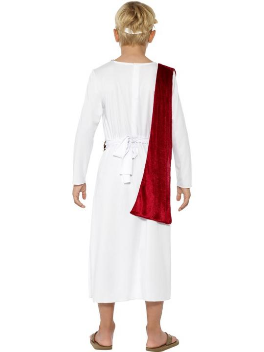 SALE! Child Roman Emperor Caesar Boys Book Week Fancy Dress Kids Party Costume Thumbnail 2