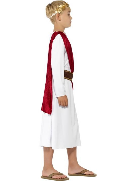 SALE! Child Roman Emperor Caesar Boys Book Week Fancy Dress Kids Party Costume Thumbnail 3