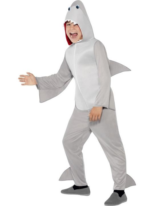 SALE! Child Funny Shark Fish Girls / Boys Book Week Fancy Dress Kids Costume Thumbnail 1