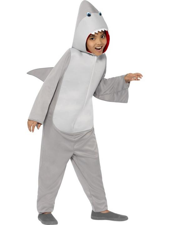 SALE! Child Funny Shark Fish Girls / Boys Book Week Fancy Dress Kids Costume Thumbnail 2