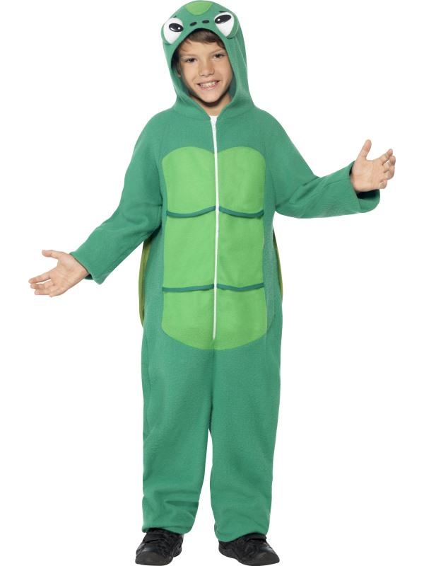 Child Funny Zoo Animal Turtle Girls / Boys Book Week Fancy Dress Kids Costume
