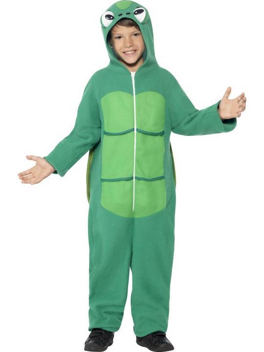 Child Funny Zoo Animal Turtle Girls / Boys Book Week Fancy Dress Kids Costume Thumbnail 1