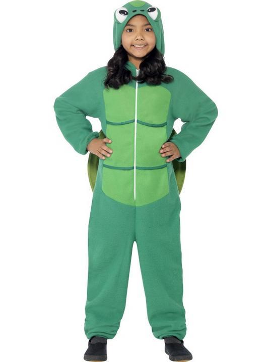 Child Funny Zoo Animal Turtle Girls / Boys Book Week Fancy Dress Kids Costume Thumbnail 2