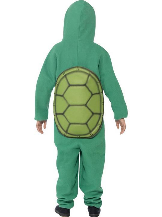 Child Funny Zoo Animal Turtle Girls / Boys Book Week Fancy Dress Kids Costume Thumbnail 4