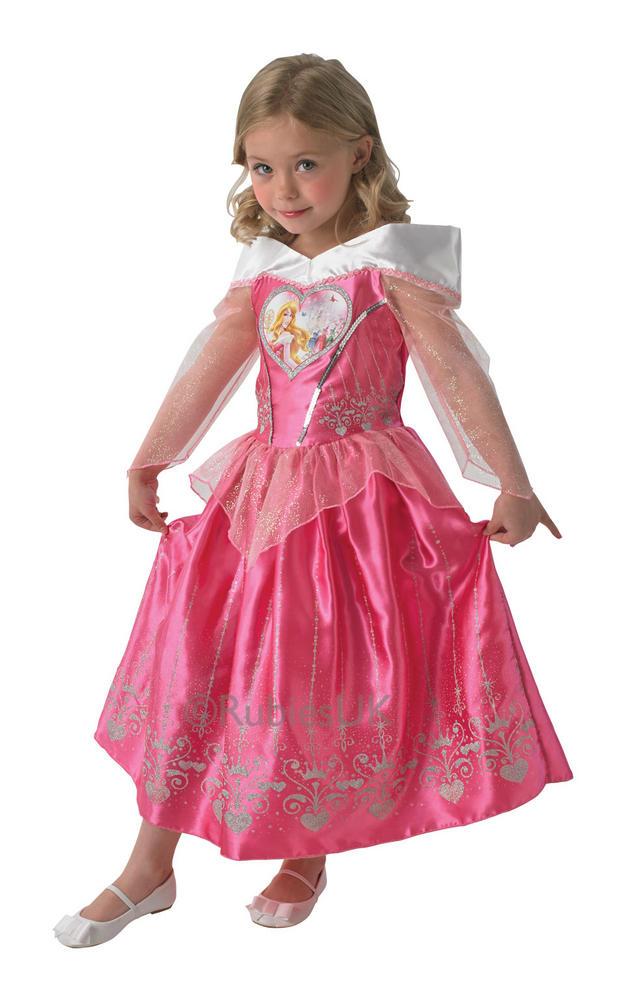 Child Disney Princess Sleeping Beauty Girls Book Week Fancy Dress Kids Costume