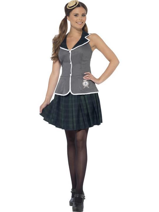 Ladies School Prefect Costume Thumbnail 1