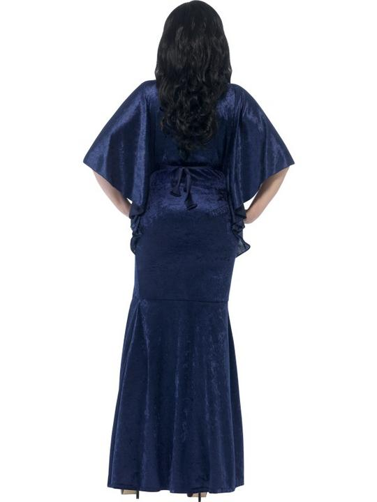 Adult Sexy Gothic Sorceress Ladies Halloween Party Fancy Dress Costume Outfit Thumbnail 2
