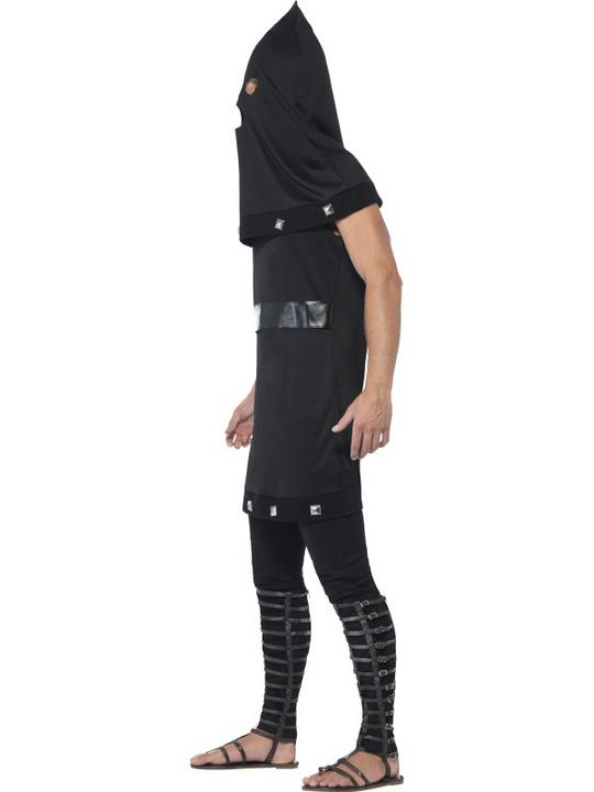 Adult Evil Dungeon Executioner Mens Halloween Horror Fancy Dress Costume Outfit Thumbnail 2