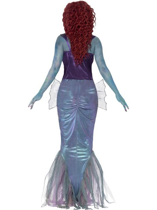 SALE! Adult Zombie Mermaid Ladies Halloween Party Fancy Dress Costume Outfit Thumbnail 2