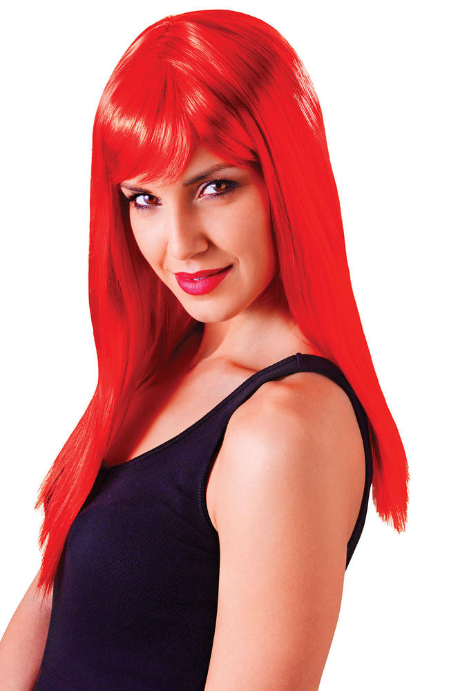 Red Passion Wig