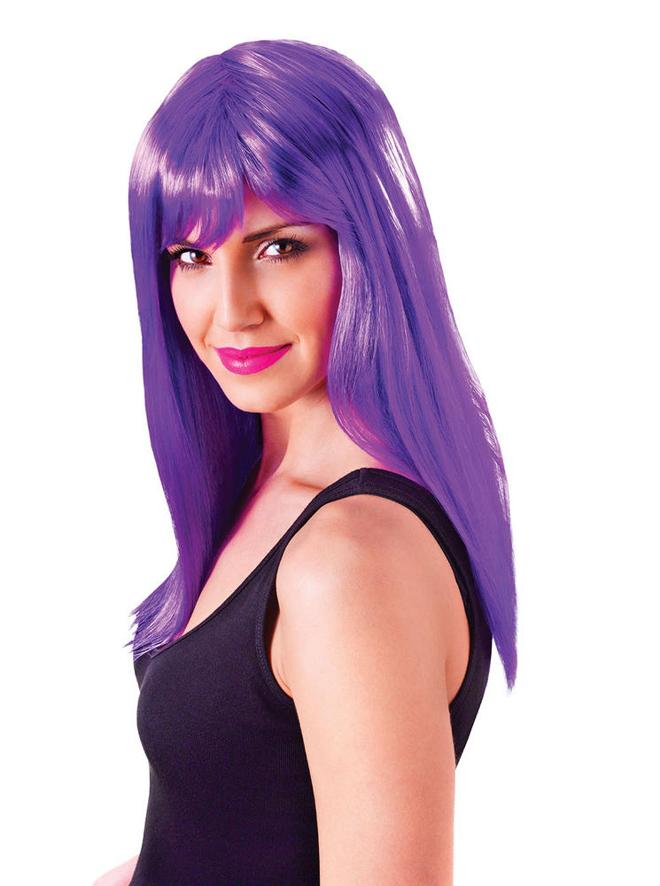 Neon Purple Passion wig
