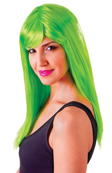 Neon Green Passion Wig  Thumbnail 1