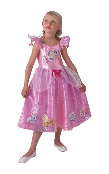Child Licensed Disney Princess Palace Pets Fancy Dress Costume Thumbnail 1