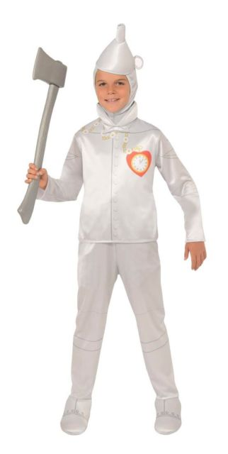 Boys Wizard of Oz Tin Man Cosume