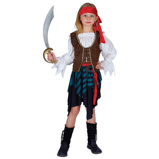 Caribbean Pirate Girl Thumbnail 2
