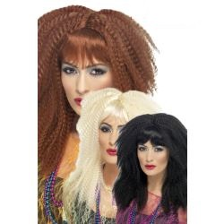 80's Trademark Crimp Wig