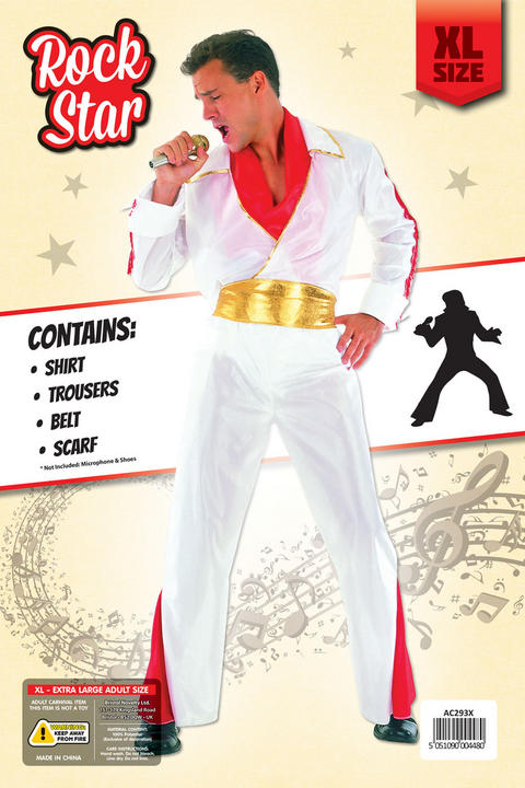 Adult Rock Star Costume Extra Large Thumbnail 2