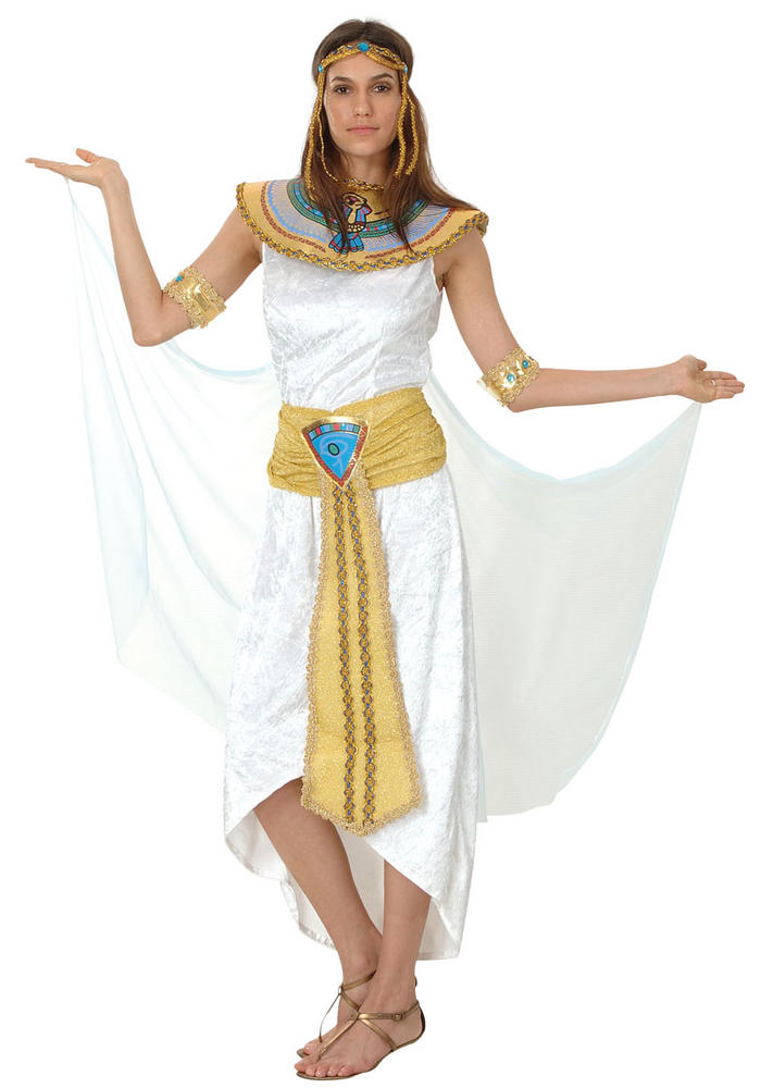 Egyptian Queen Of The Nile womens Costume Ladies Fancy Dress Outfit Dressup