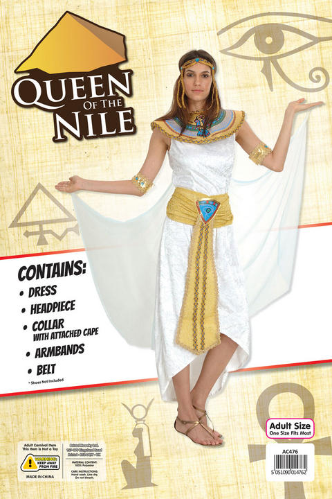Adult Queen Of The Nile Costume Thumbnail 2
