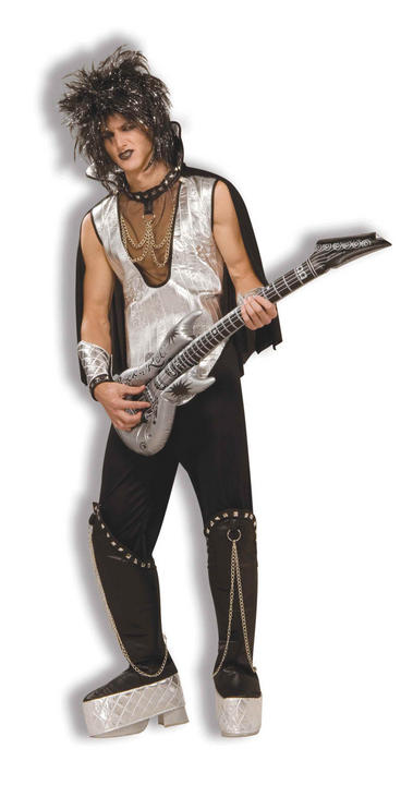 Adult Rock On (70s Glam Rock) Costume Thumbnail 1