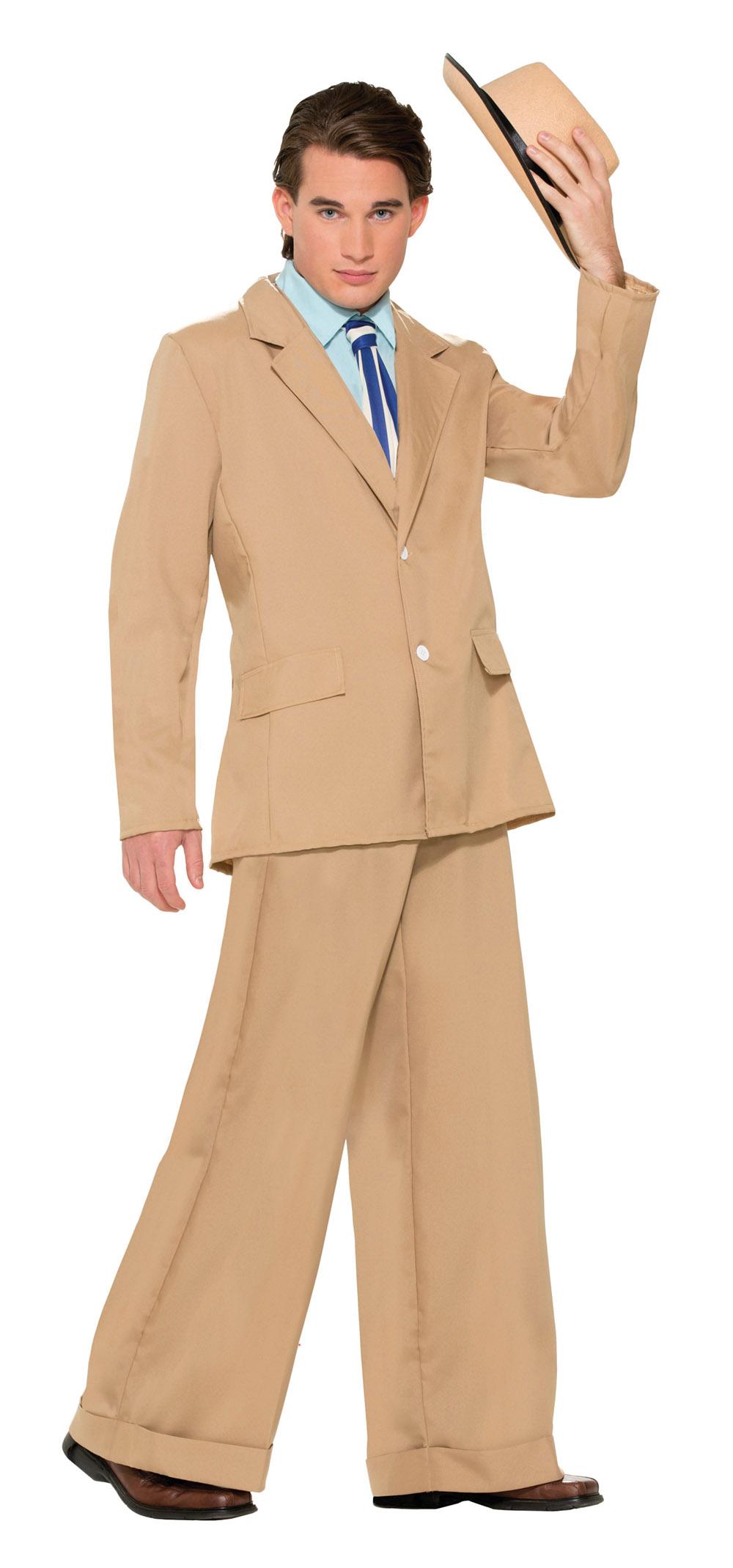 sc 1 st  Wonderland Party & Adult Gold Coast Gentleman (20s Suit) Costume