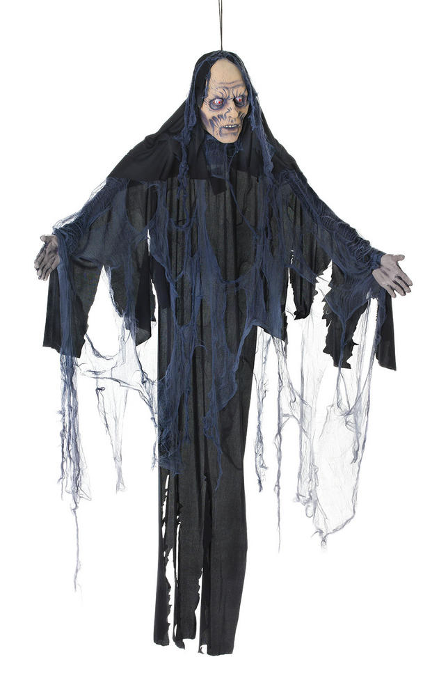Female Zombie 6ft Hanging Prop