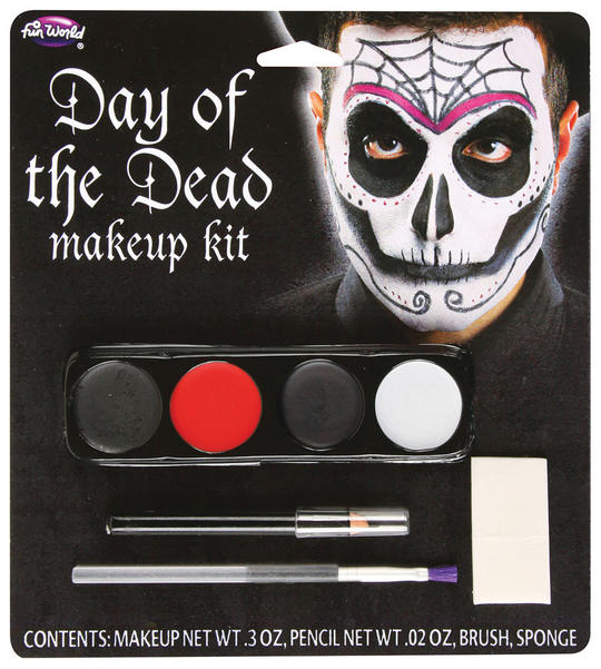 Day Of The Dead Make Up Kit (Male) Thumbnail 1