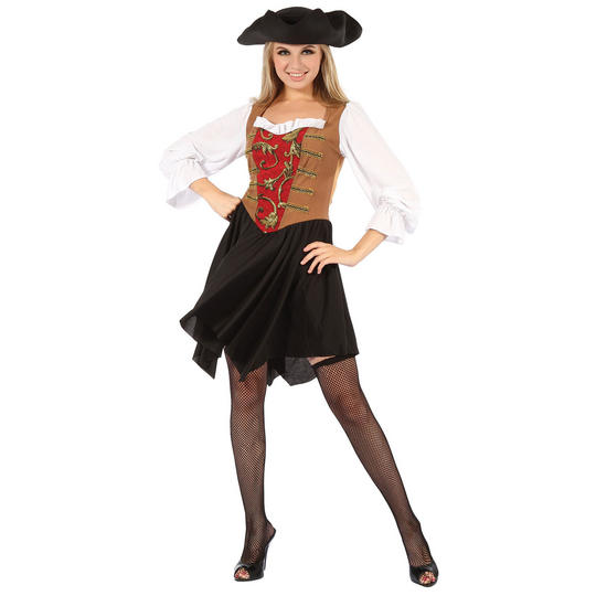 Pirate Lady Dress. Thumbnail 1