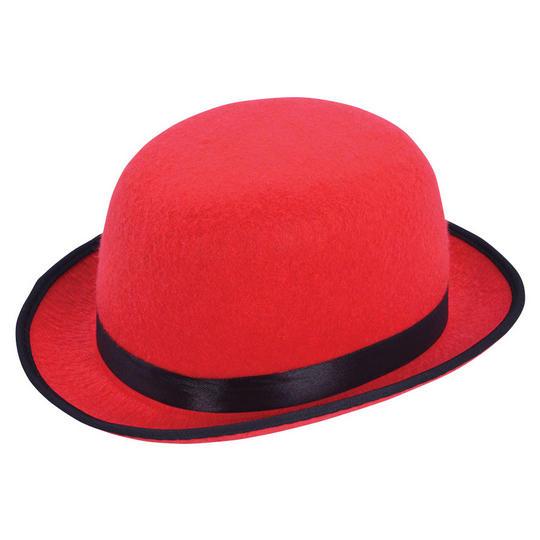 Red Bowler Hat Thumbnail 1
