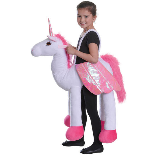 Childs Riding Unicorn Thumbnail 1