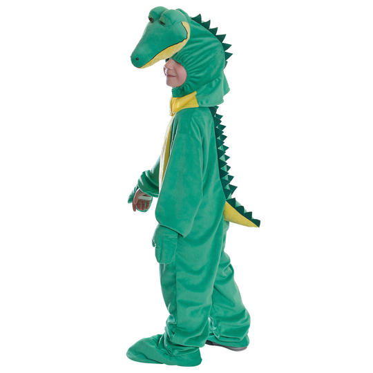 Kids Crocodile Animal Book Week Costume Fancy Dress Outfit Thumbnail 1
