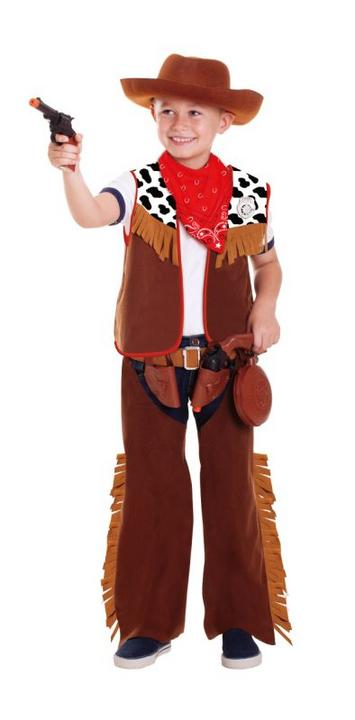 SALE! Kids Wild West Western Cowboy Boys Fancy Dress Childs Costume Outfit Thumbnail 1