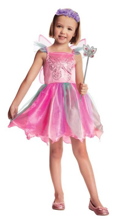 Girls Fairy Fancy Dress Costume Thumbnail 1