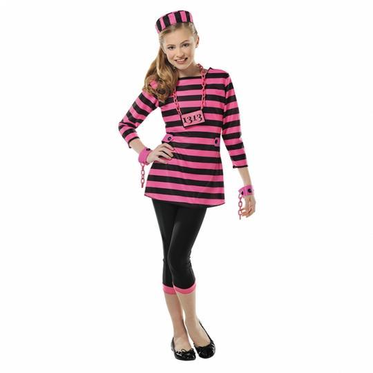 Girl's Miss Dee Meaner Fancy Dress Costume Thumbnail 1