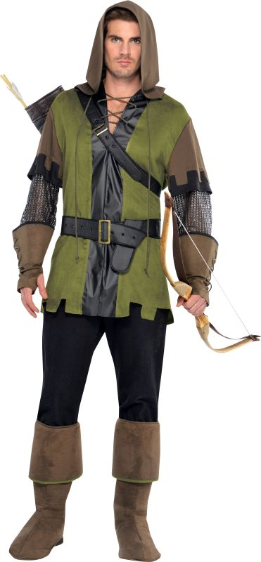Men's Prince Of Thieves Fancy Dress Costume