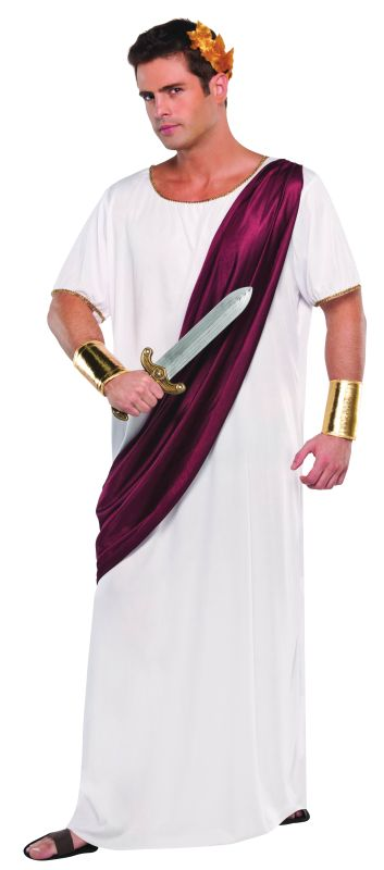 Caesar Adult Fancy Dress Costume
