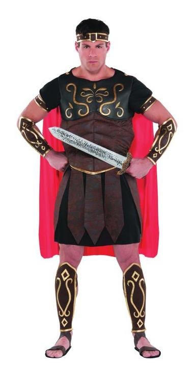 Mens Centurion Fancy Dress Costume  Thumbnail 1