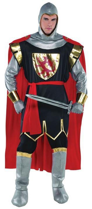 Mens Brave Crusader Fancy Dress Costume  Thumbnail 1