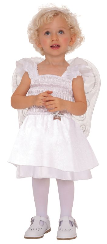 Baby Girls  Little Angel Fancy Dress costume