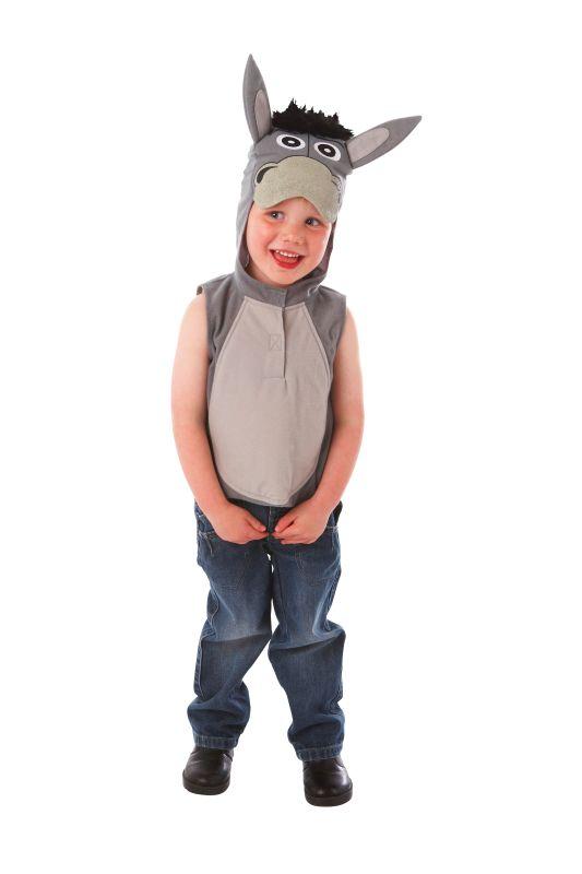 Childs Nativity Donkey Fancy dress Costume