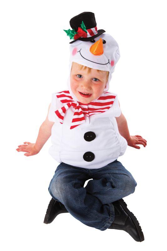 Snowman Child 3-5 Yrs