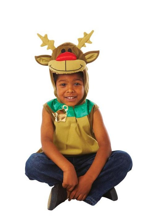 Kid's Rudolph Fancy Dress Costume Thumbnail 1