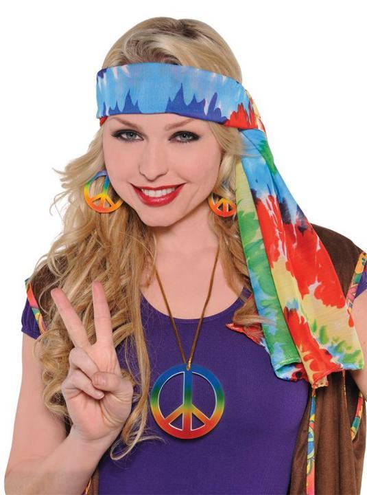 60`s Hippie Headscarf Thumbnail 1