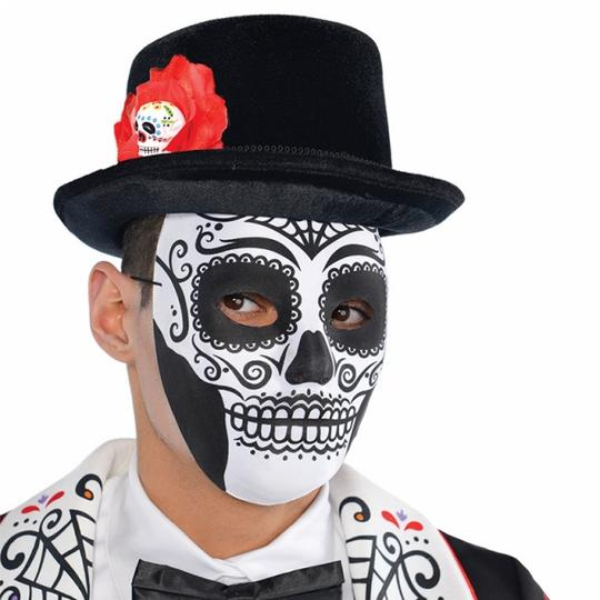 Adult Day of the Dead Mask Thumbnail 1