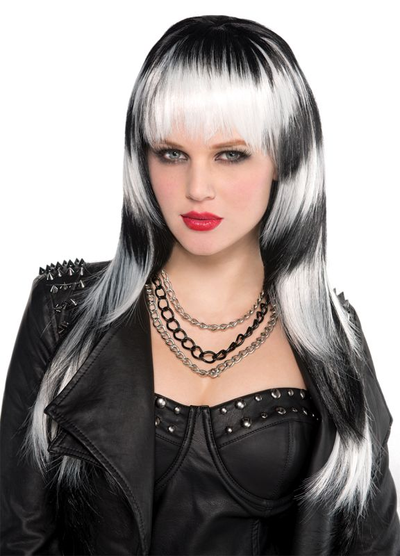 Adult Lethal Passion Wig Ladies Halloween Party Fancy Dress Costume Accessory