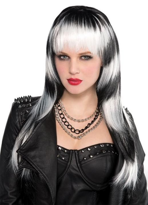 Adult Lethal Passion Wig Ladies Halloween Party Fancy Dress Costume Accessory Thumbnail 1
