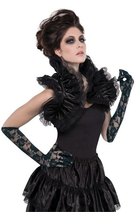 Goth Ruffled Shrug Thumbnail 1